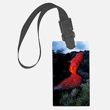 Lava flow Luggage Tag