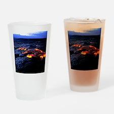 Lava flow Drinking Glass