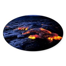 Lava flow Decal