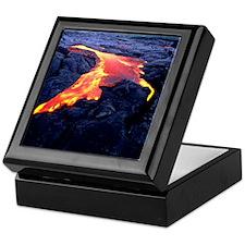 Lava flow Keepsake Box