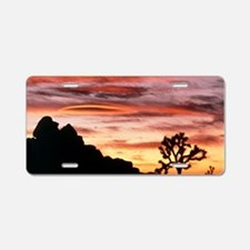 Lenticular cloud, Joshua Tr Aluminum License Plate