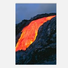 Lava flow from Kilauea vo Postcards (Package of 8)