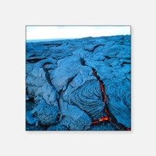 "Lava flow Square Sticker 3"" x 3"""