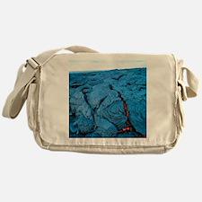 Lava flow Messenger Bag
