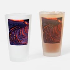 Lava flow Drinking Glass