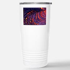 Lava flow Stainless Steel Travel Mug