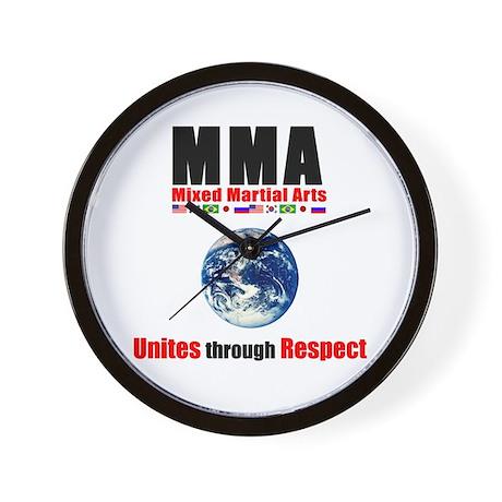 Buy MMA respect Wall Clock