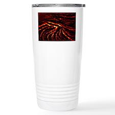 Lava flow Travel Coffee Mug
