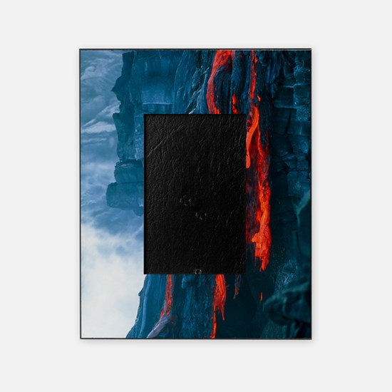 Lava flow Picture Frame