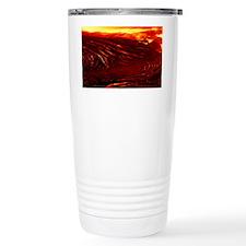 Lava flow Travel Mug