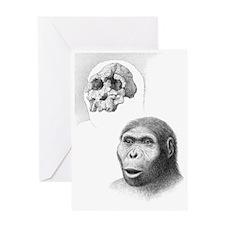 Kenyanthropus platyops Greeting Card