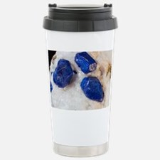 Lapis lazuli crystals Stainless Steel Travel Mug