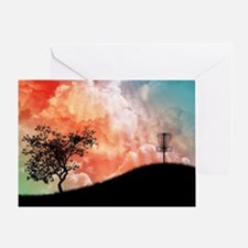 Basket On A Hill Greeting Cards