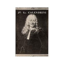 Jean-Louis Calandrini, Swiss phys Rectangle Magnet
