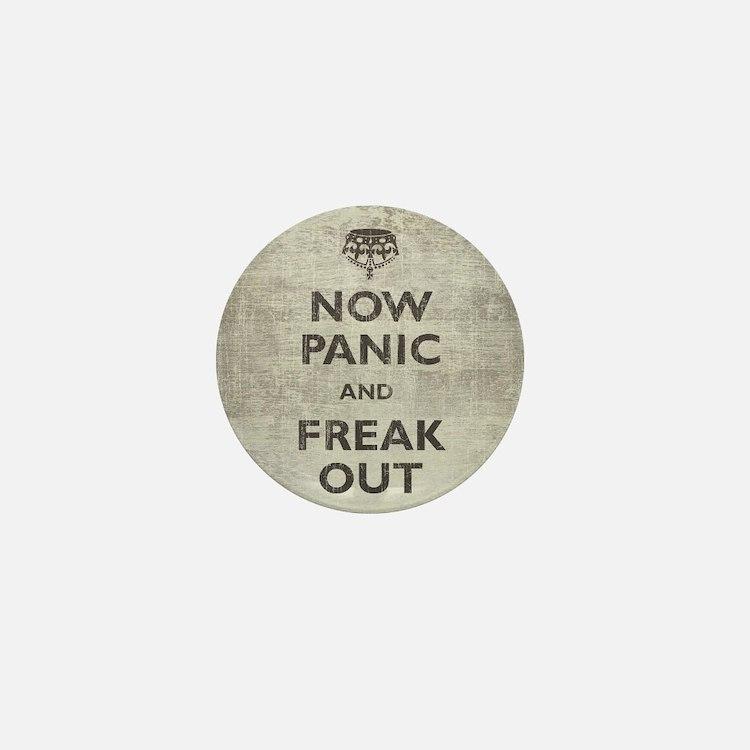 Vintage Now Mini Button