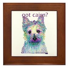 Got Cairn? Framed Tile