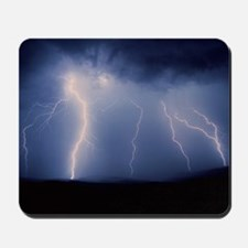 July lightning storm, Tucson, Arizona US Mousepad