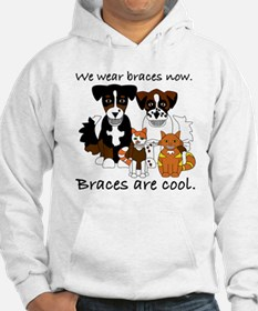 Braces Are Cool(2) Hoodie
