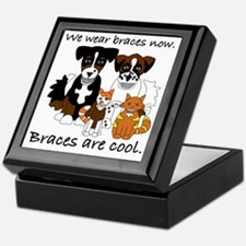 Braces Are Cool(2) Keepsake Box