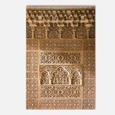 Islamic carvings, Alhambr Postcards (Package of 8)
