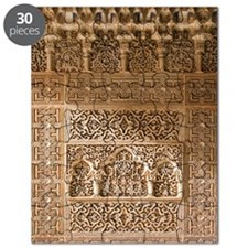 Islamic carvings, Alhambra, Spain Puzzle