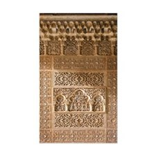 Islamic carvings, Alhambra, Sp Decal