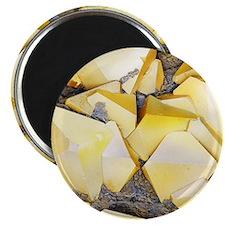 Iron pyrite crystals, SEM Magnet