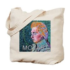 WHIRLING MOZART Tote Bag
