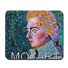 WHIRLING MOZART Mousepad
