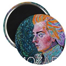 WHIRLING MOZART Magnet