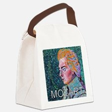 WHIRLING MOZART Canvas Lunch Bag