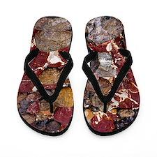 Jasper bedrock Flip Flops