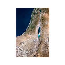 Israel, satellite image Rectangle Magnet