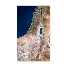 Israel, satellite image Decal