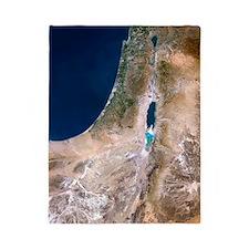 Israel, satellite image Twin Duvet