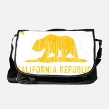 Vintage California Republic Messenger Bag
