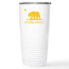 Vintage California Republic Travel Mug