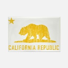 Vintage California Republic Rectangle Magnet