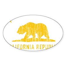 Vintage California Republic Decal