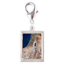 Israel Silver Portrait Charm