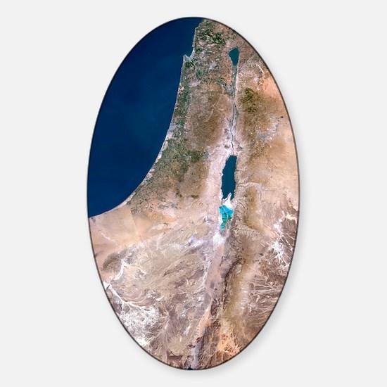 Israel Sticker (Oval)
