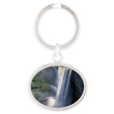 Kaieteur Falls Oval Keychain