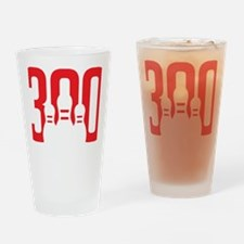 The Perfect Bowling Game Drinking Glass