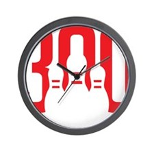 The Perfect Bowling Game Wall Clock