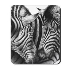 Zebras Kindle Sleeve Mousepad