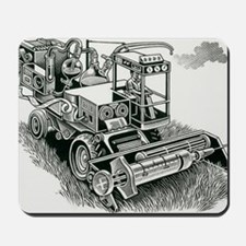 Industrial farming Mousepad