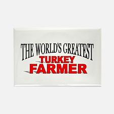"""""""The World's Greatest Turkey Farmer"""" Rectangle Mag"""