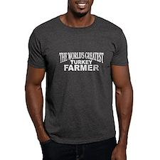"""The World's Greatest Turkey Farmer"" T-Shirt"