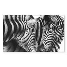 Zebras Puzzle Decal