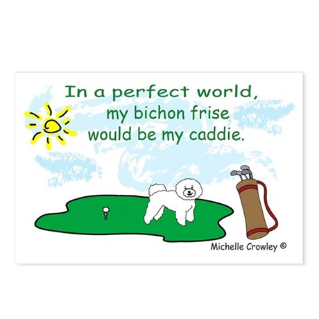 bichon frise Postcards (Package of 8)